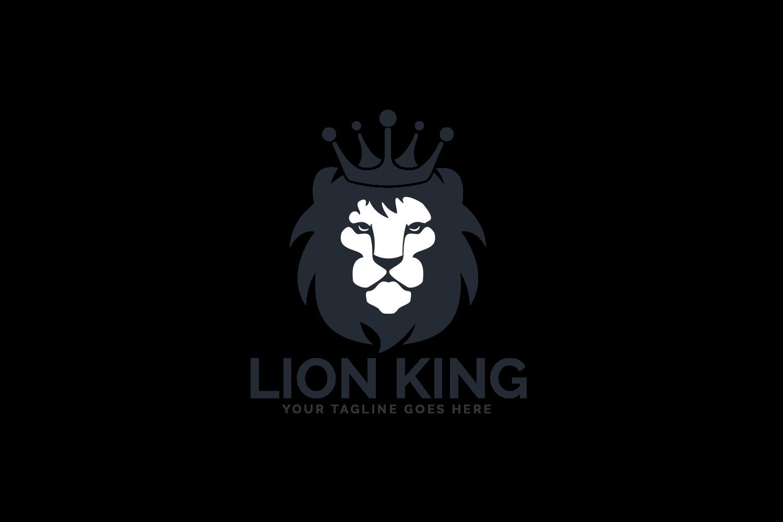 Lion King Logo Design. example image 2