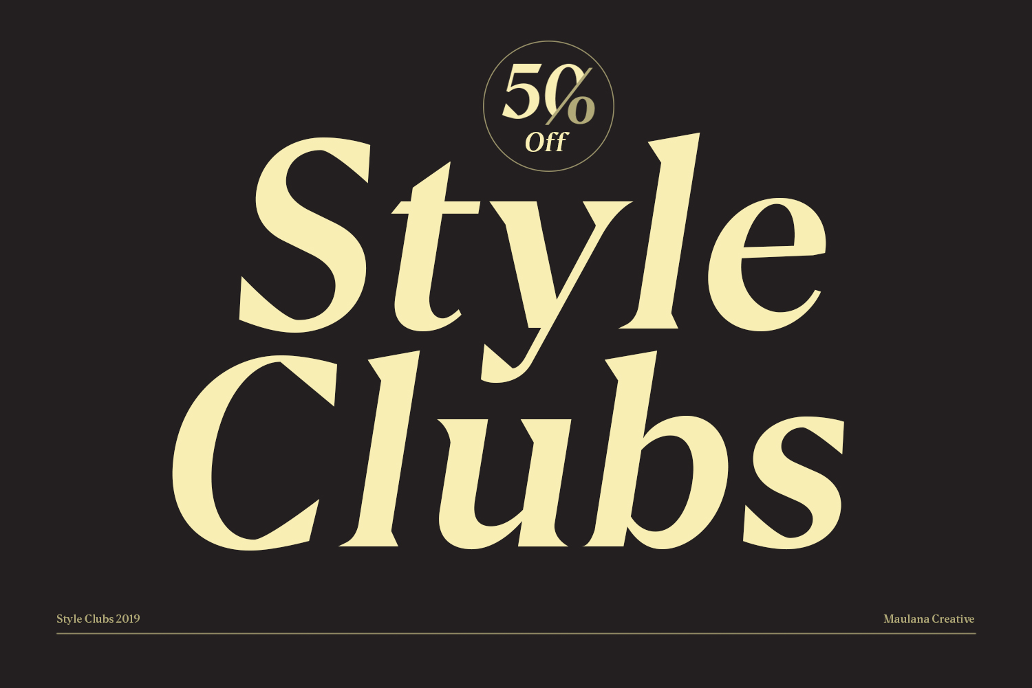 Style Clubs Serif - 50 OFF example image 9