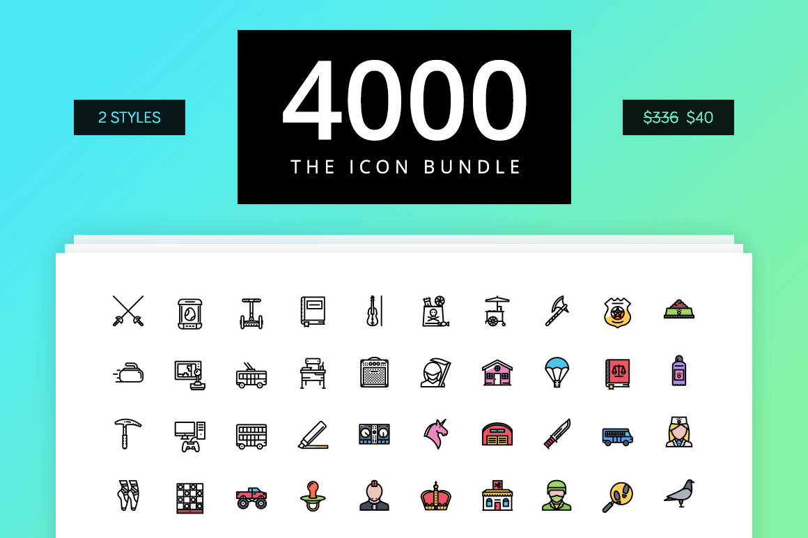 The Icon Bundle 4000 example image 1