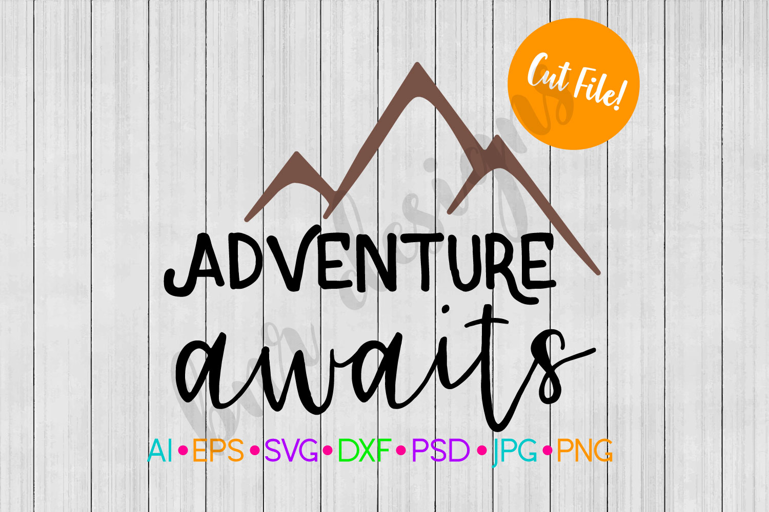 Adventure Awaits SVG, Travel SVG example image 1