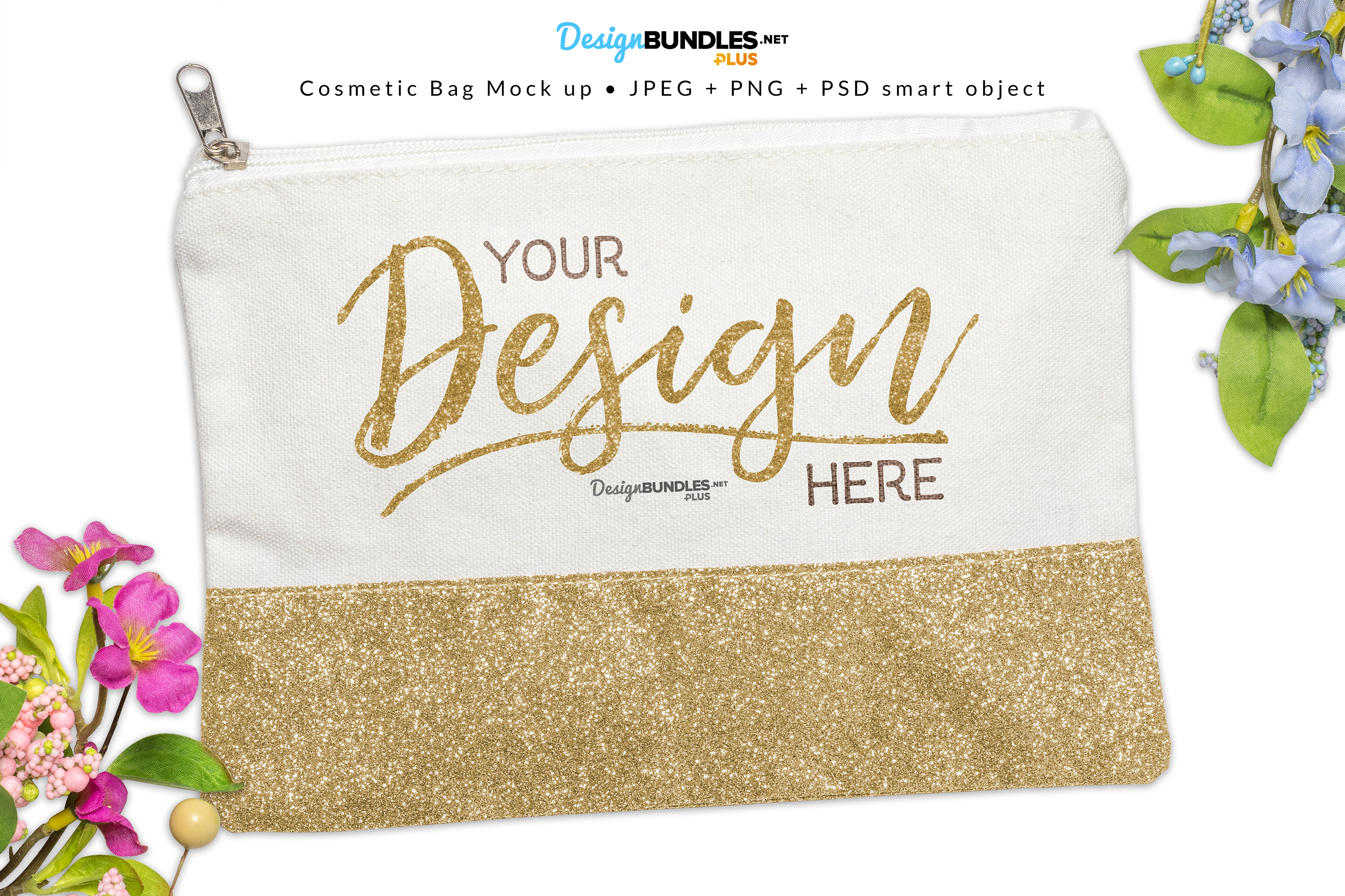 Cosmetic Bag Mock up example image 1