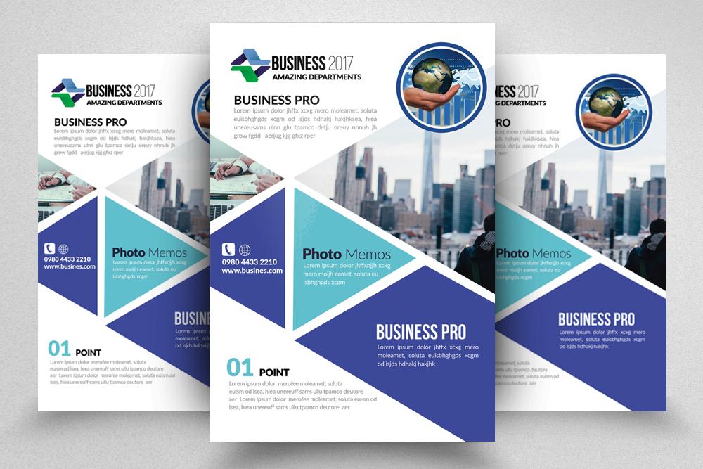 10 Multi Use Business Flyers Bundle example image 10