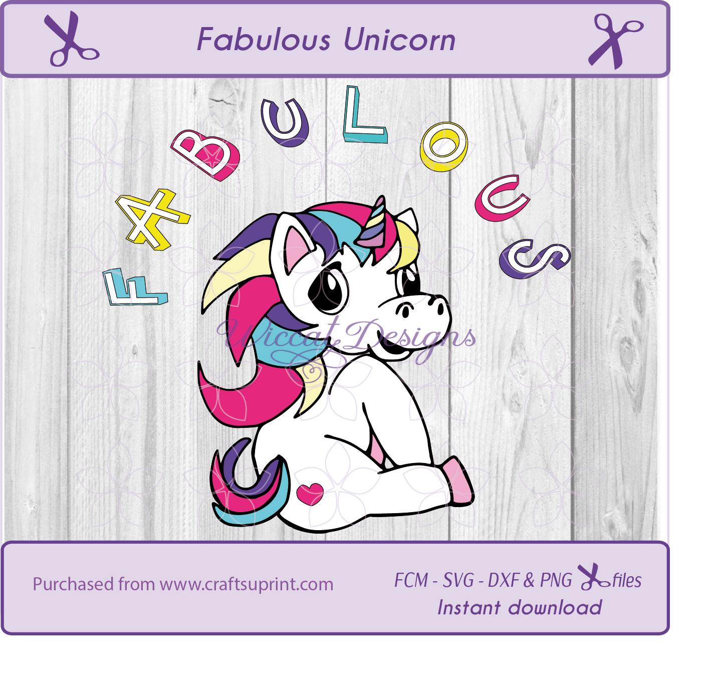 Unicorn bundle cut files, unicorn svg, nursery svg example image 2