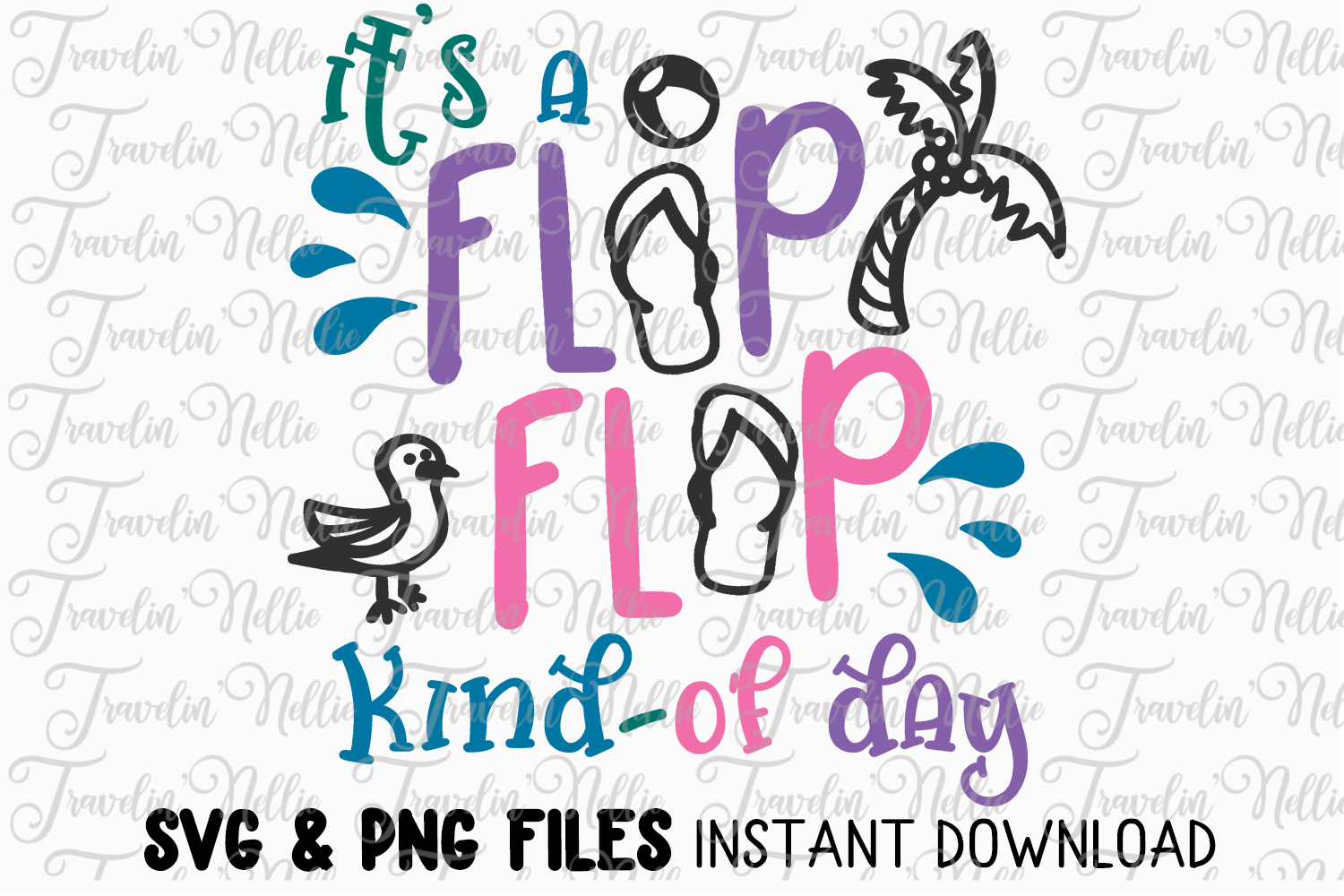 2336edc23 It a flip flop day cut file cricut silhouette quote example image jpg  1500x1000 Svg cuts