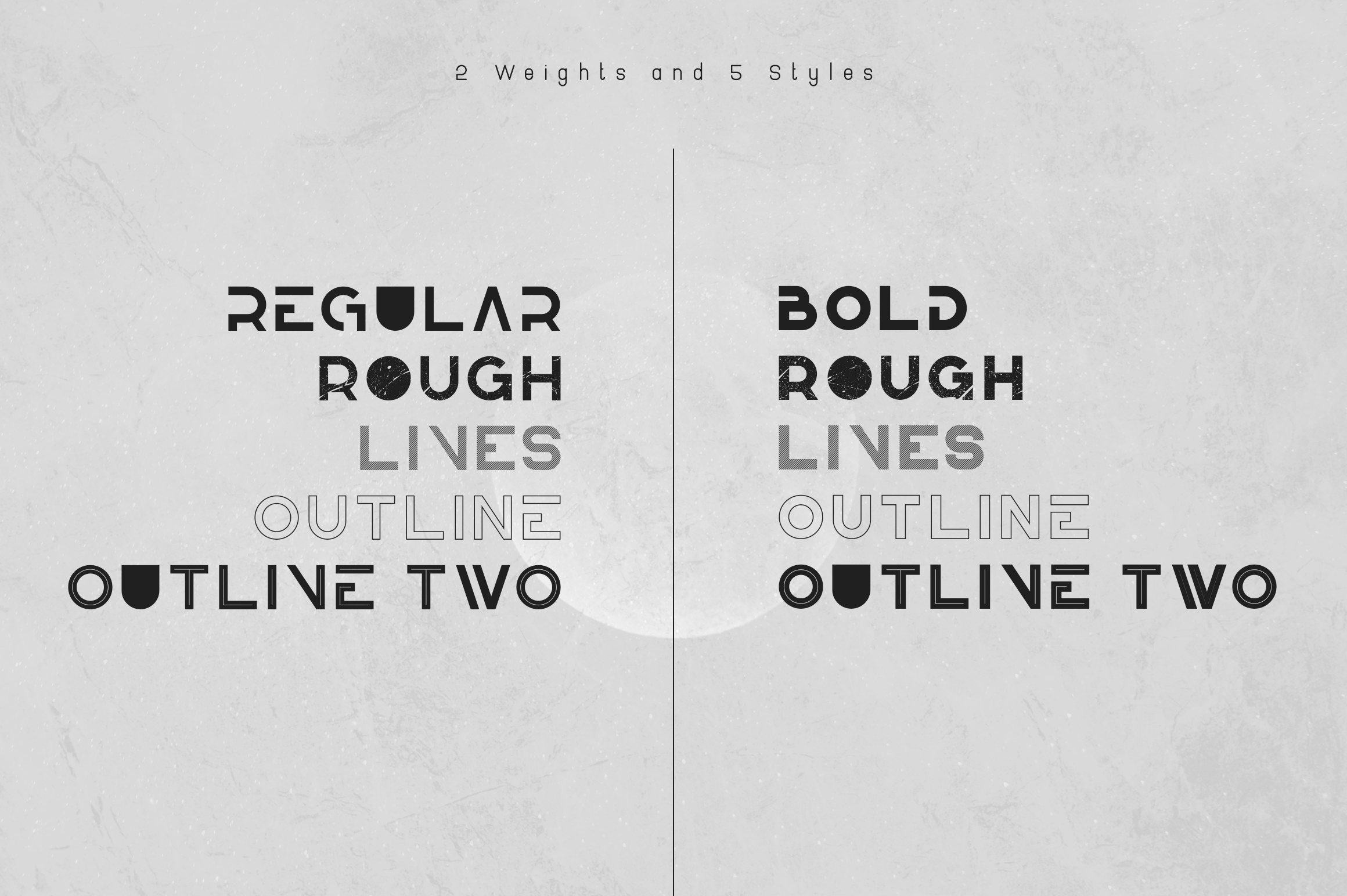 Knowhere - Display font family example image 2