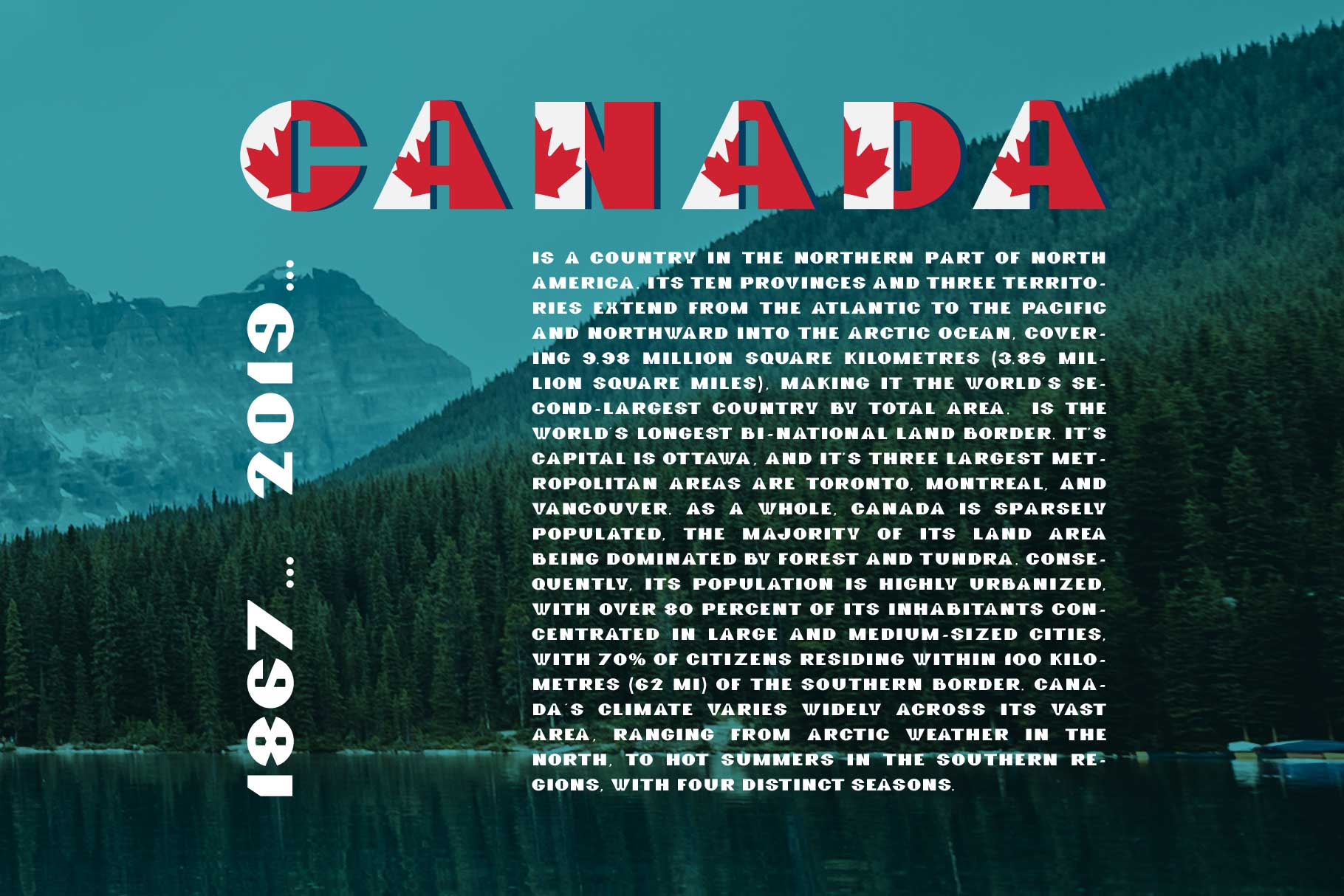 GreatCanadian-font family example image 6