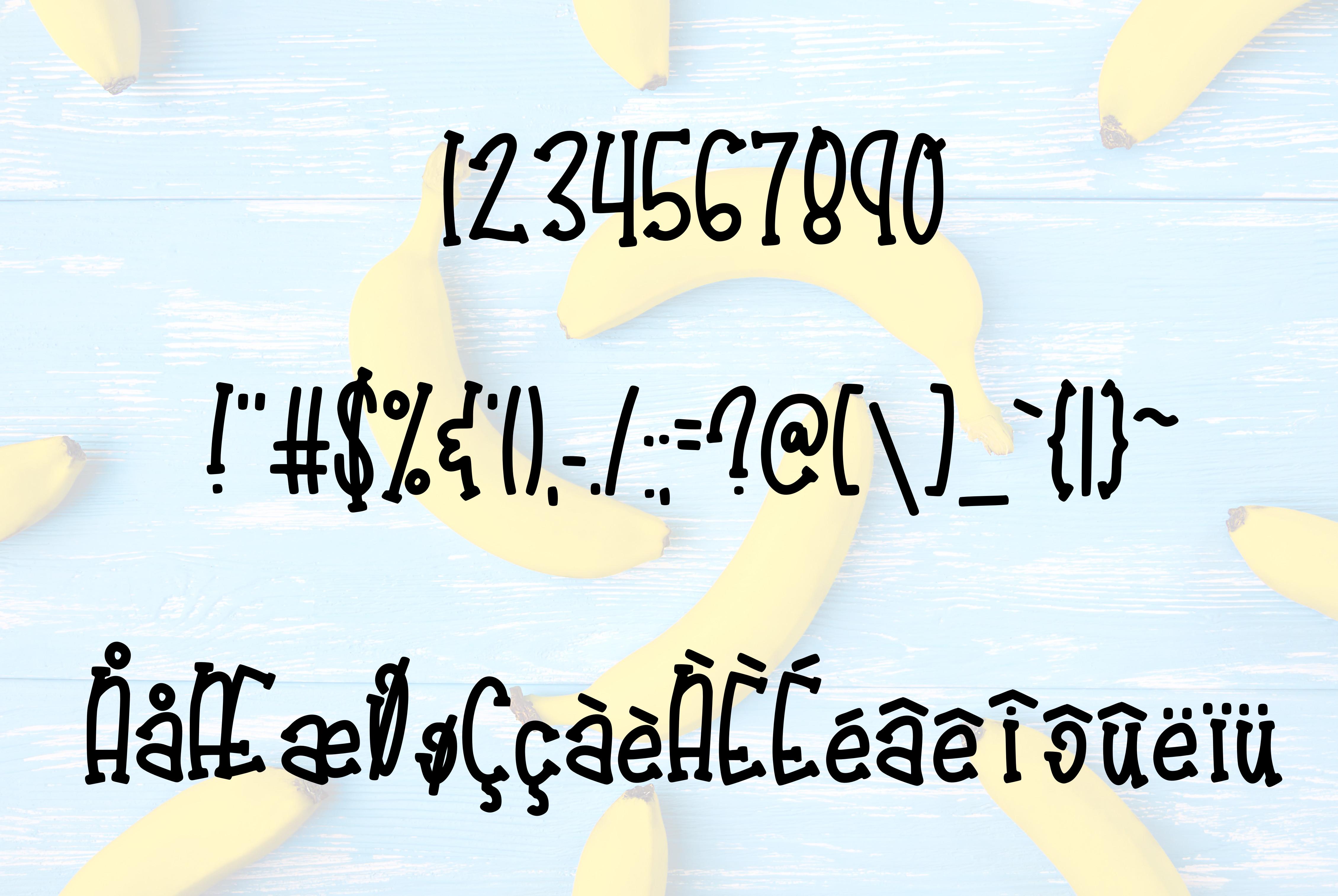 Tropical Banana example image 3