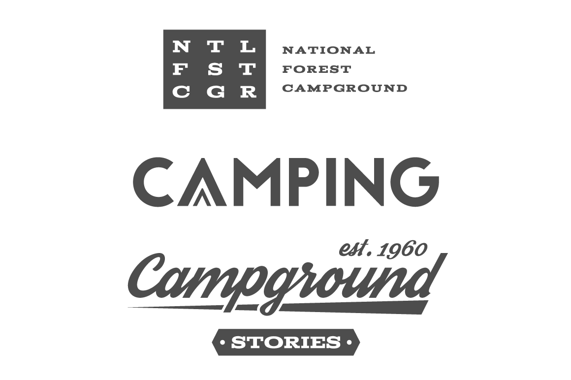 70% OFF Adventure Graphics Pack / Retro Logos Set / SVG's Collection / Icons example image 10