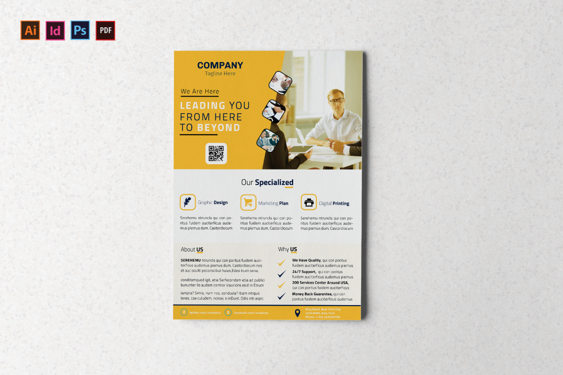 Corporate Flyer example image 5