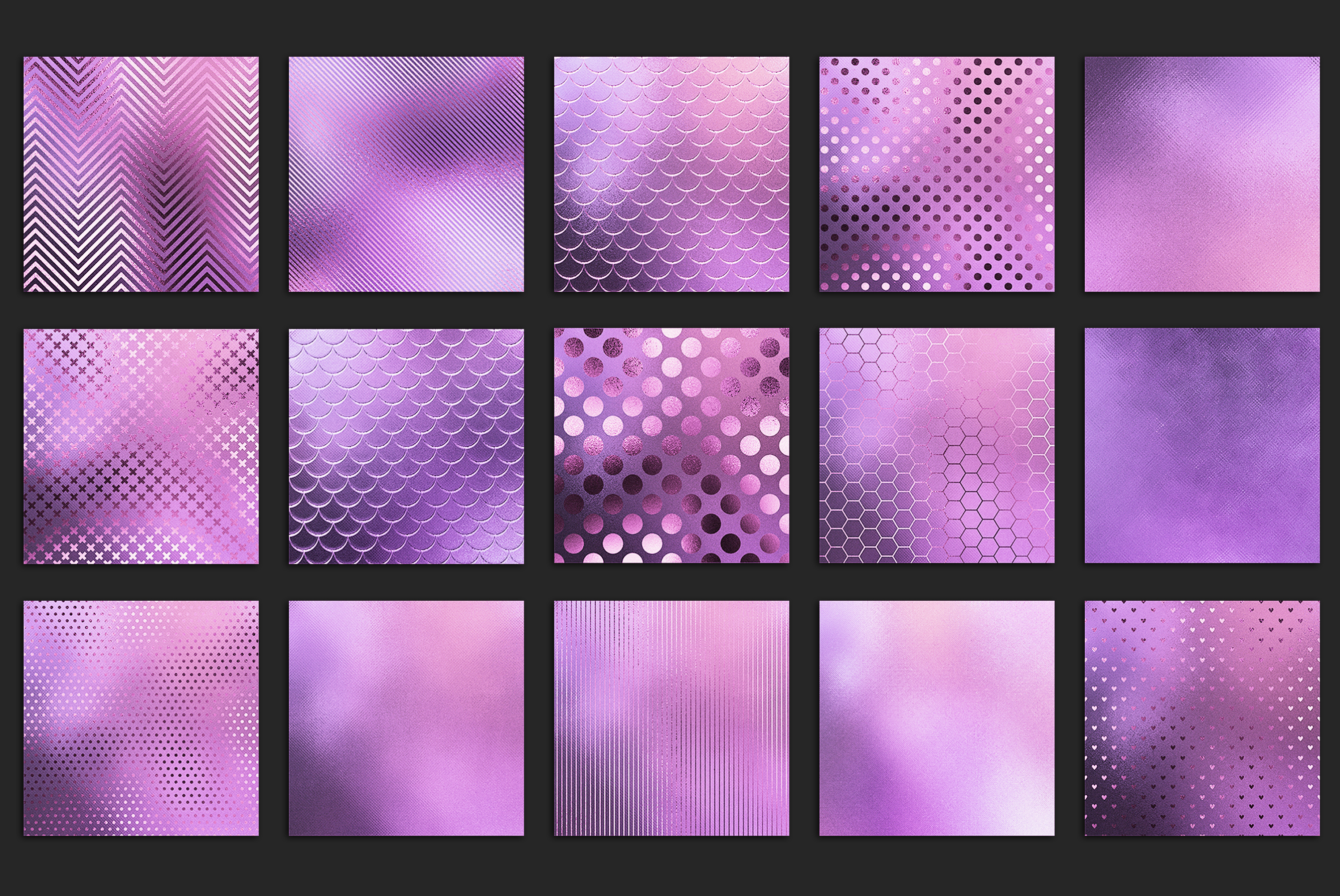 Iridescent Marble and Glitter Textures BUNDLE example image 22
