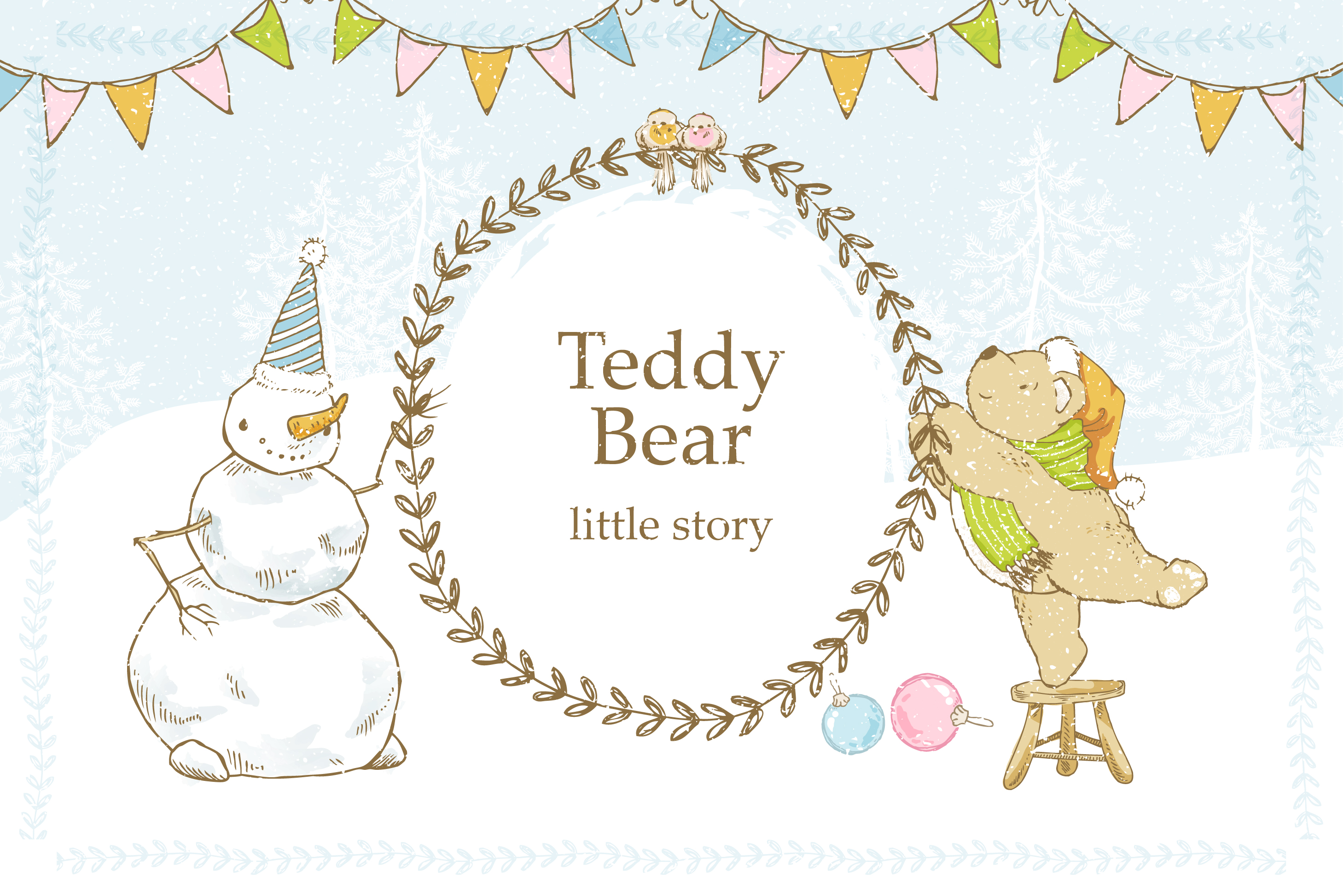 Teddy Bear little story. example image 1