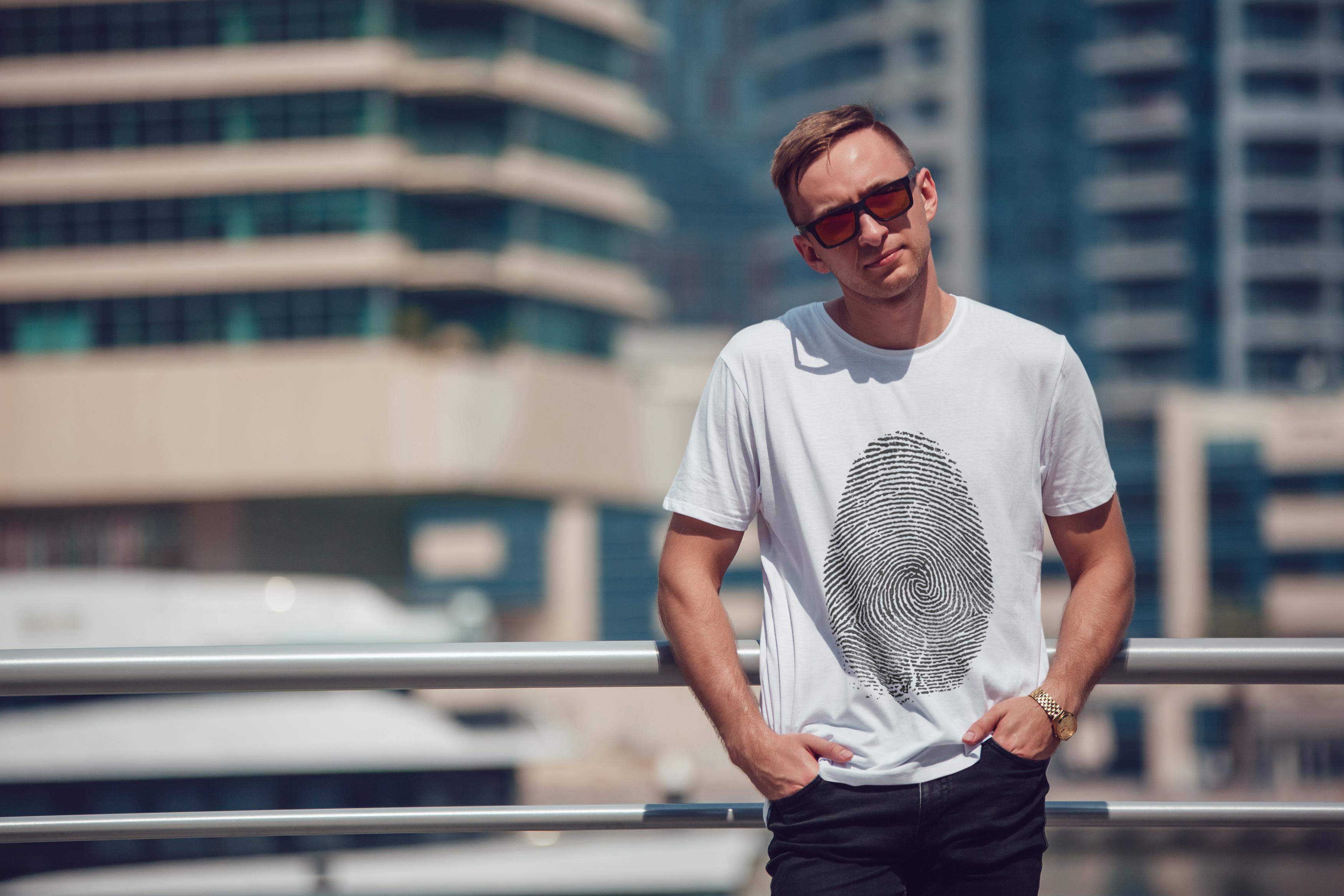 Men's T-Shirt Mock-Up Vol.5 2017 example image 7