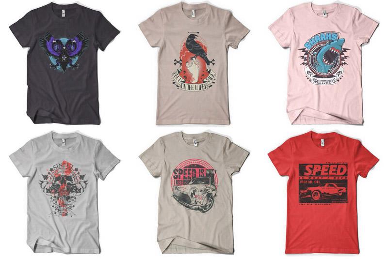 100 Premium T-shirt Designs example image 14