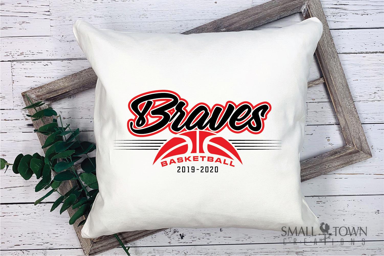 Brave, Braves Basketball, Sport, Design, PRINT, CUT, DESIGN example image 3