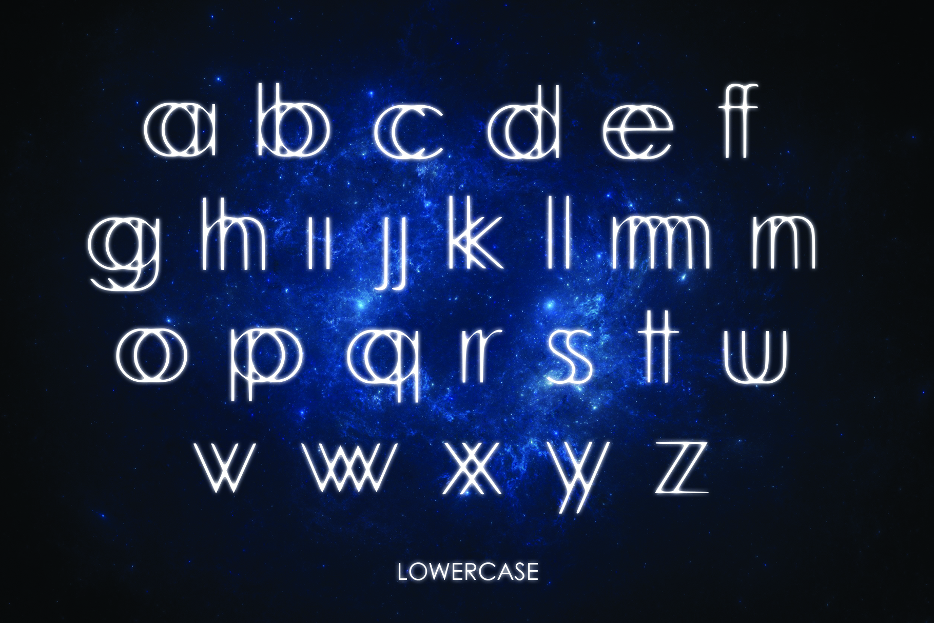 INTERLACE- A Unique Display Font example image 4