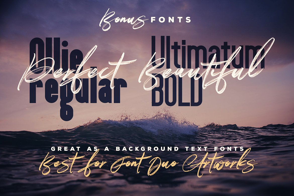 Right Brush & SVG Font example image 13