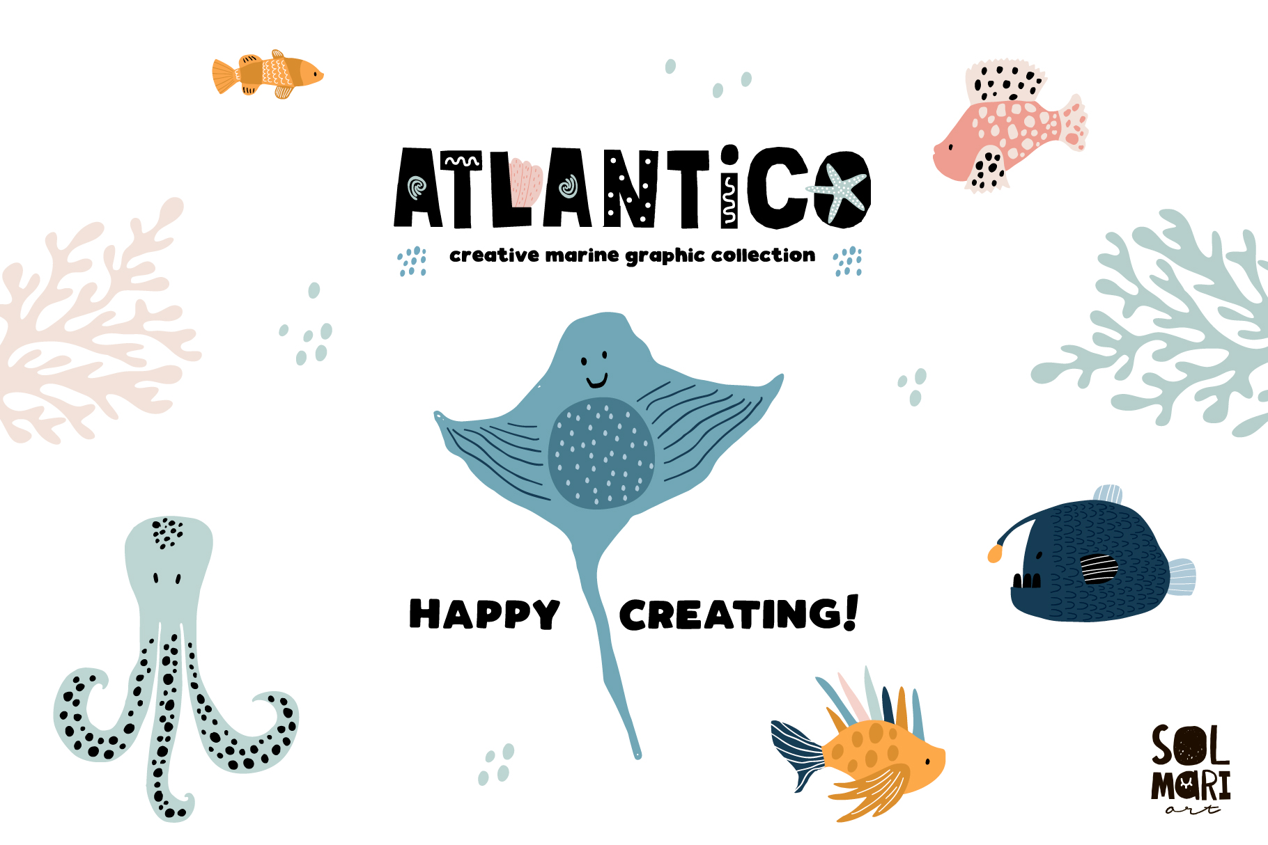 ATLANTICO. Marine graphic collection example image 9