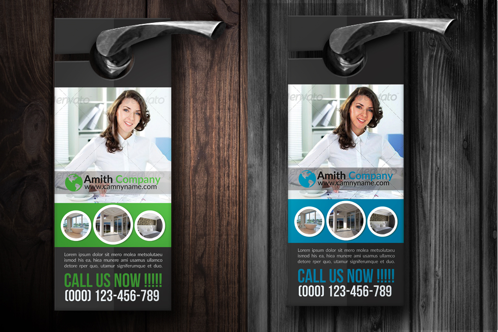 Personal Business Door Hangers example image 2
