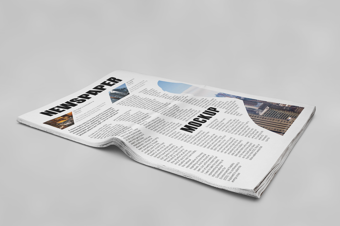 Newspaper Mockup example image 17
