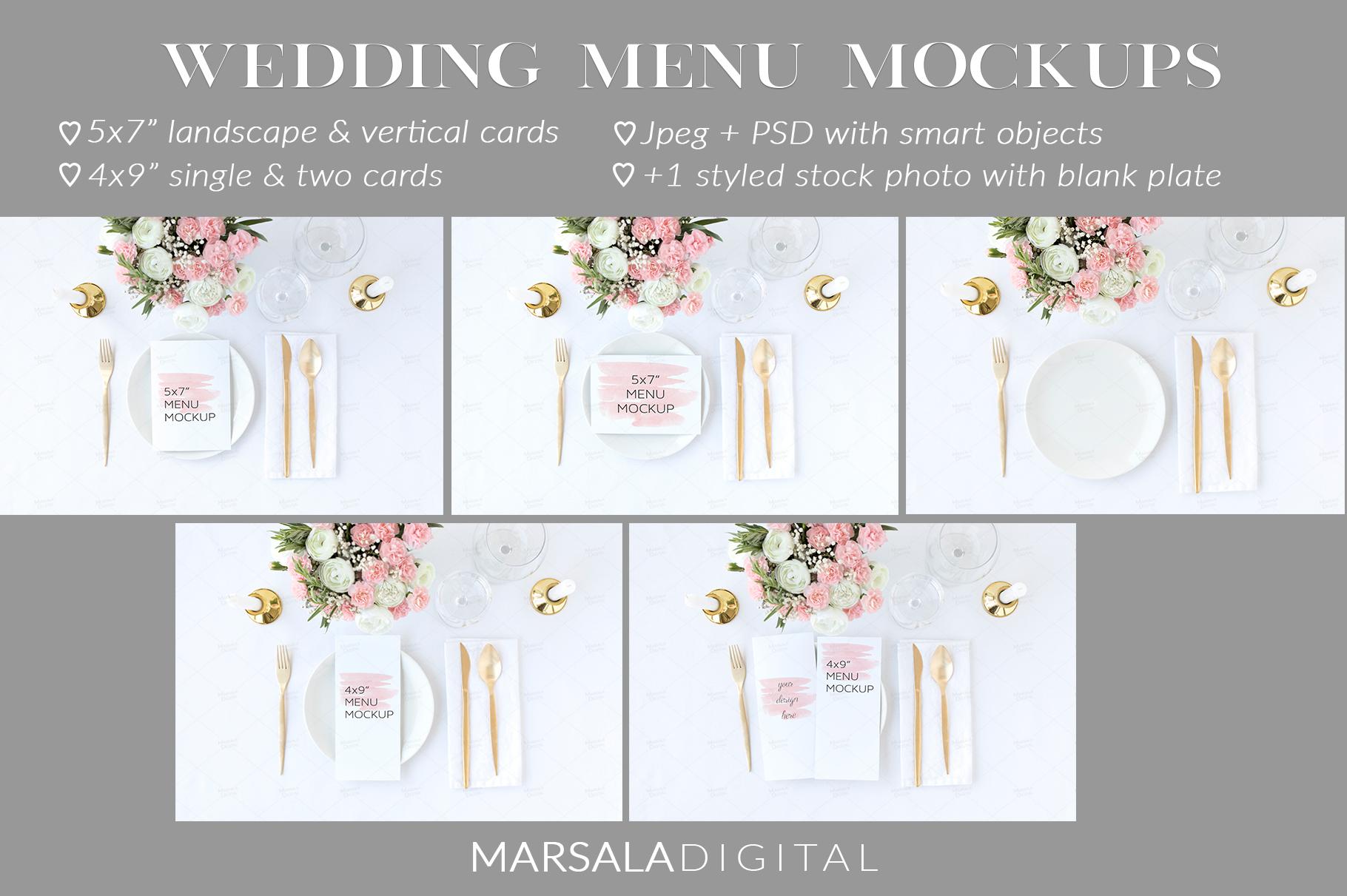Ultimate Wedding Mockup Bundle example image 2