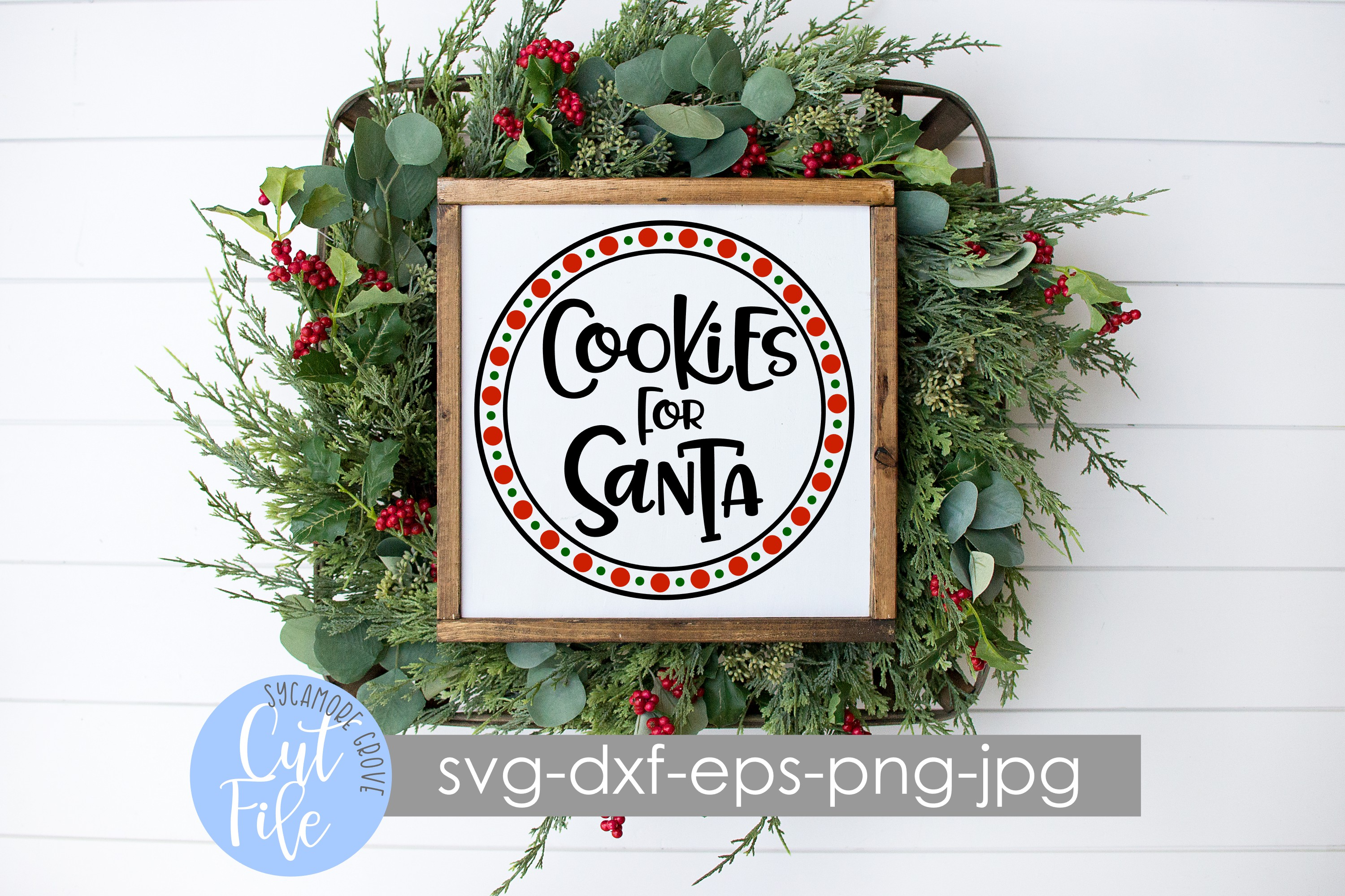 Cookies For Santa | Christmas SVG example image 2