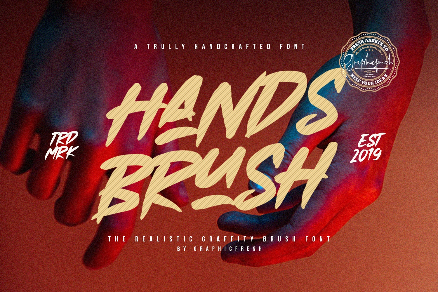 Hands Brush - Strong Urban Brush example image 1