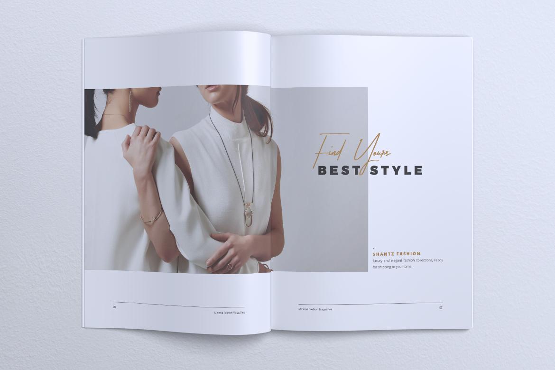 MINIMAL Lookbook Magazines Fashion example image 5