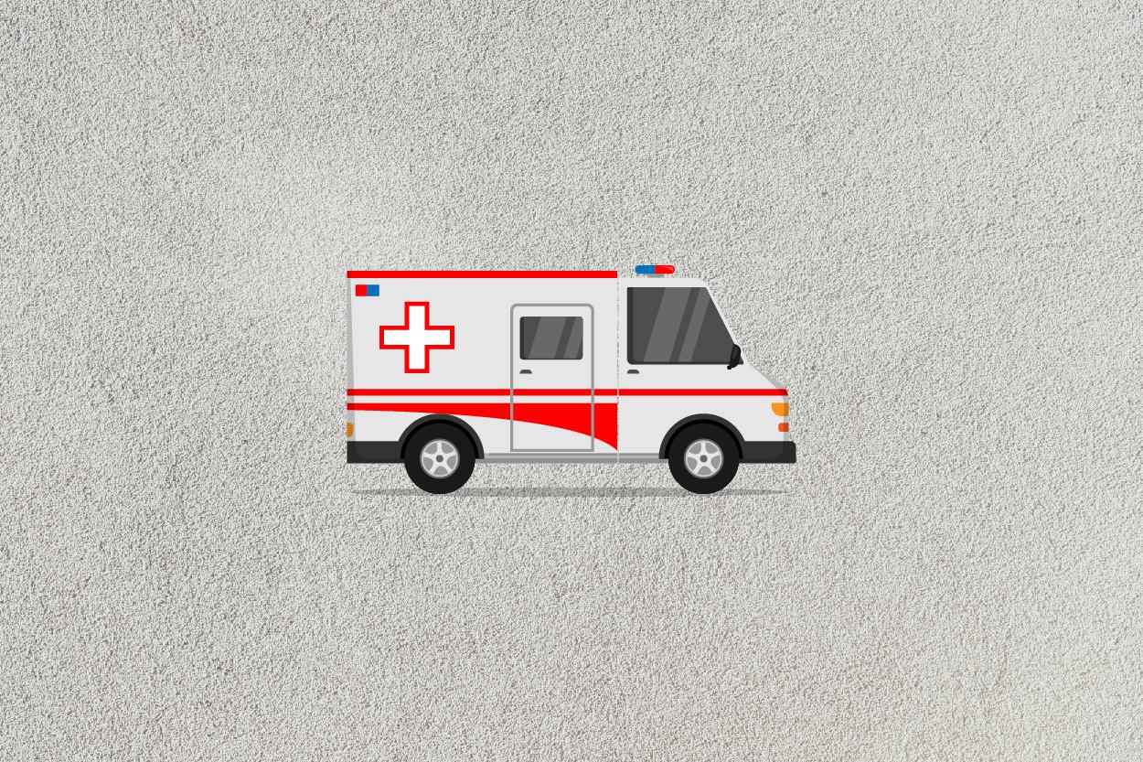 ambulance car icon example image 3
