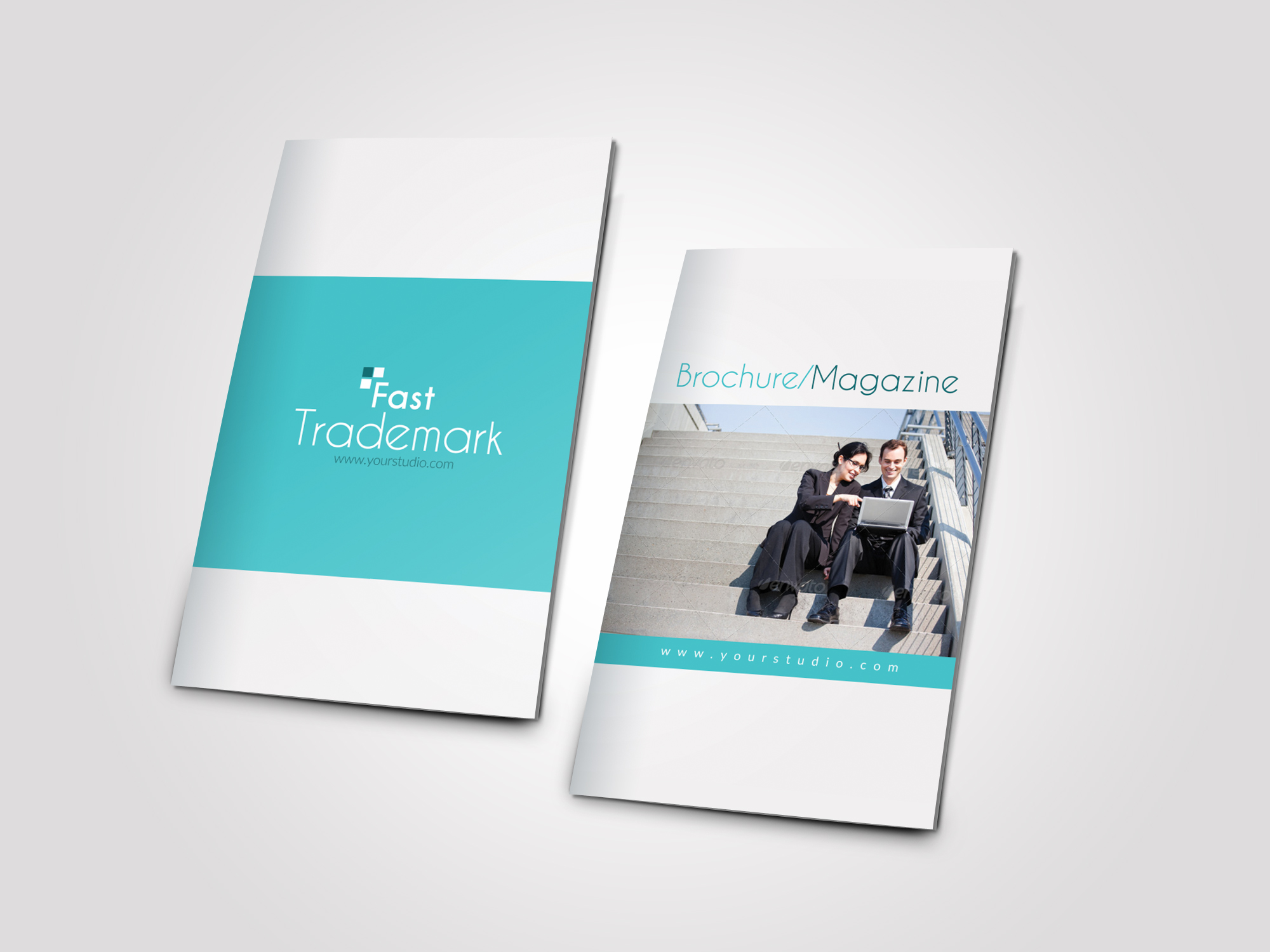 12 Pages Professional Business Bifold Brochure example image 5