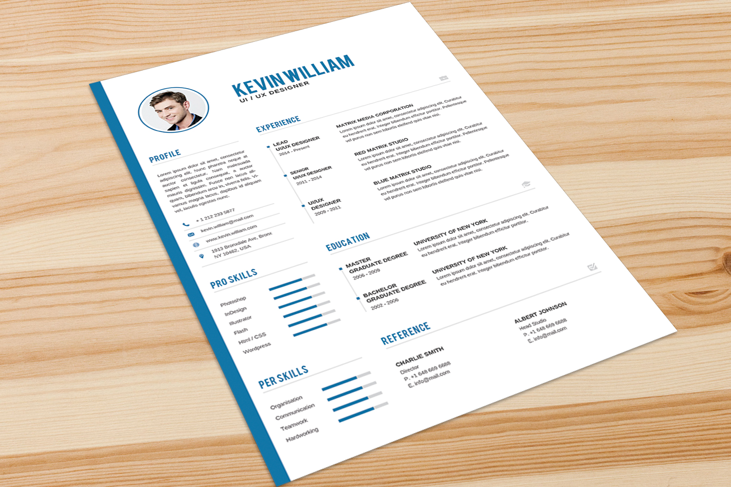 Resume Template example image 2