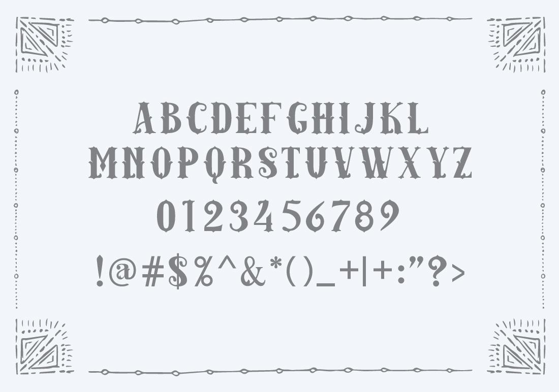 Amazinga Typeface example image 2