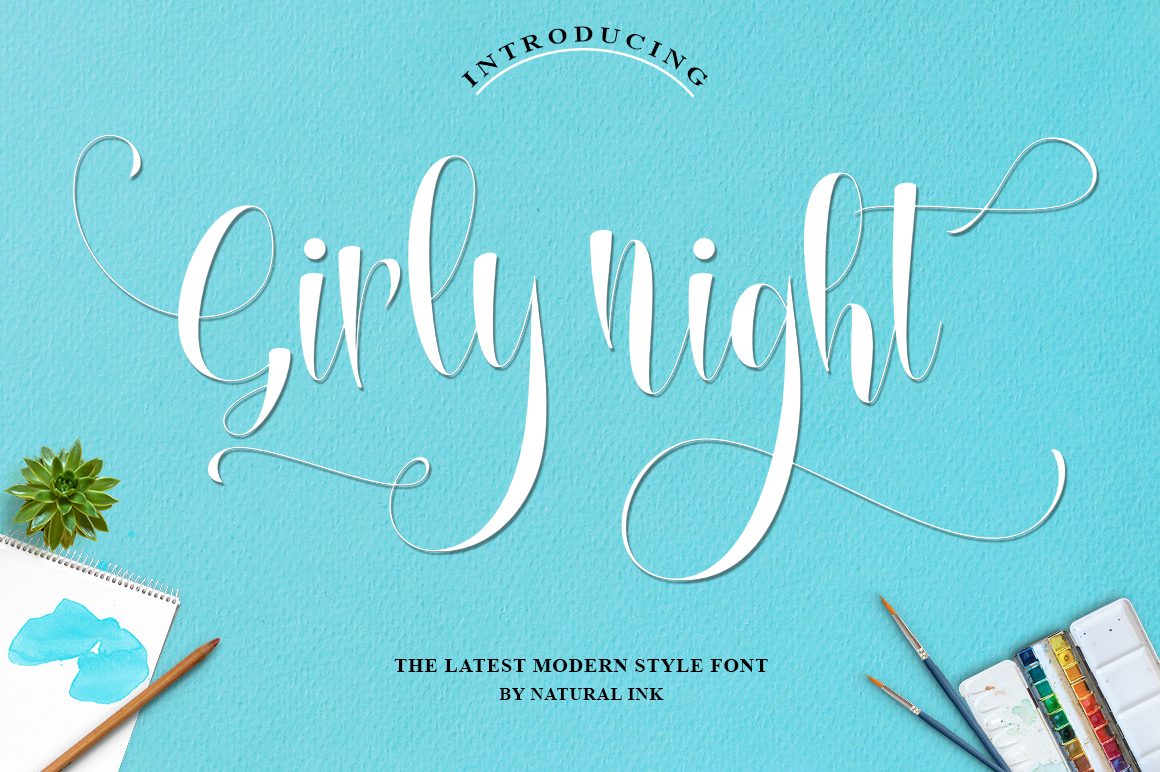 Lovely thing Font Bundles example image 3