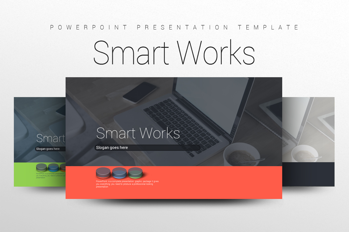 Smart Work PPT example image 1