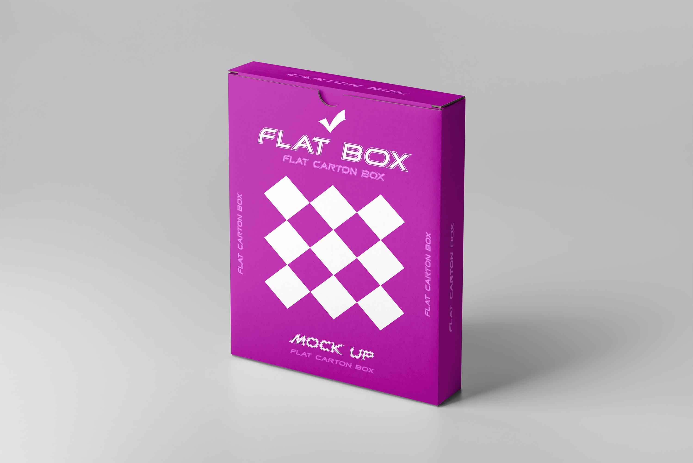 Flat Box Mockup example image 4