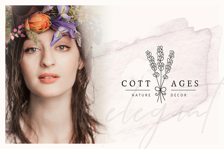 So Flowery Branding Kit + Watercolours example image 4