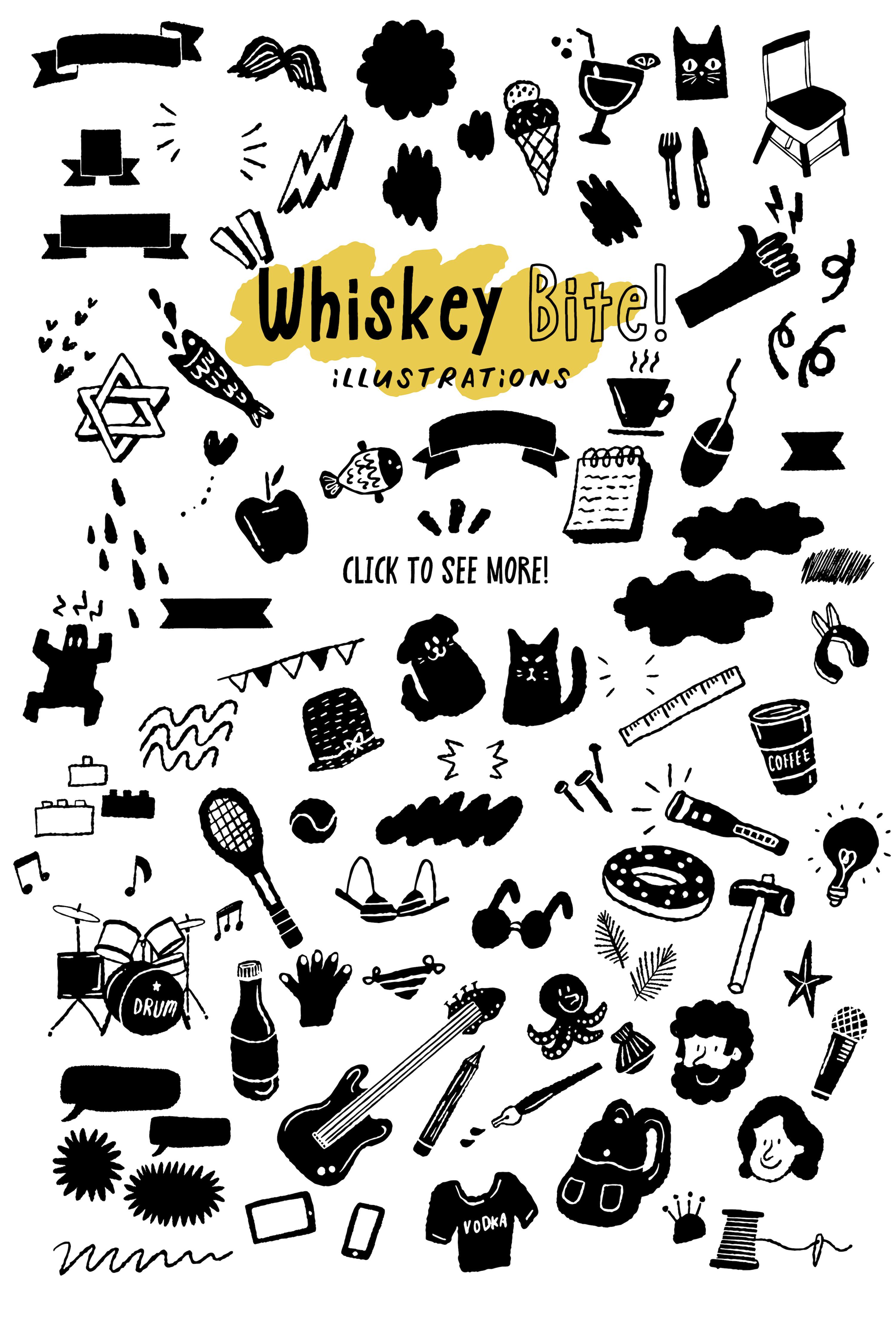 Whiskey Bite - Hip Font Trio example image 9