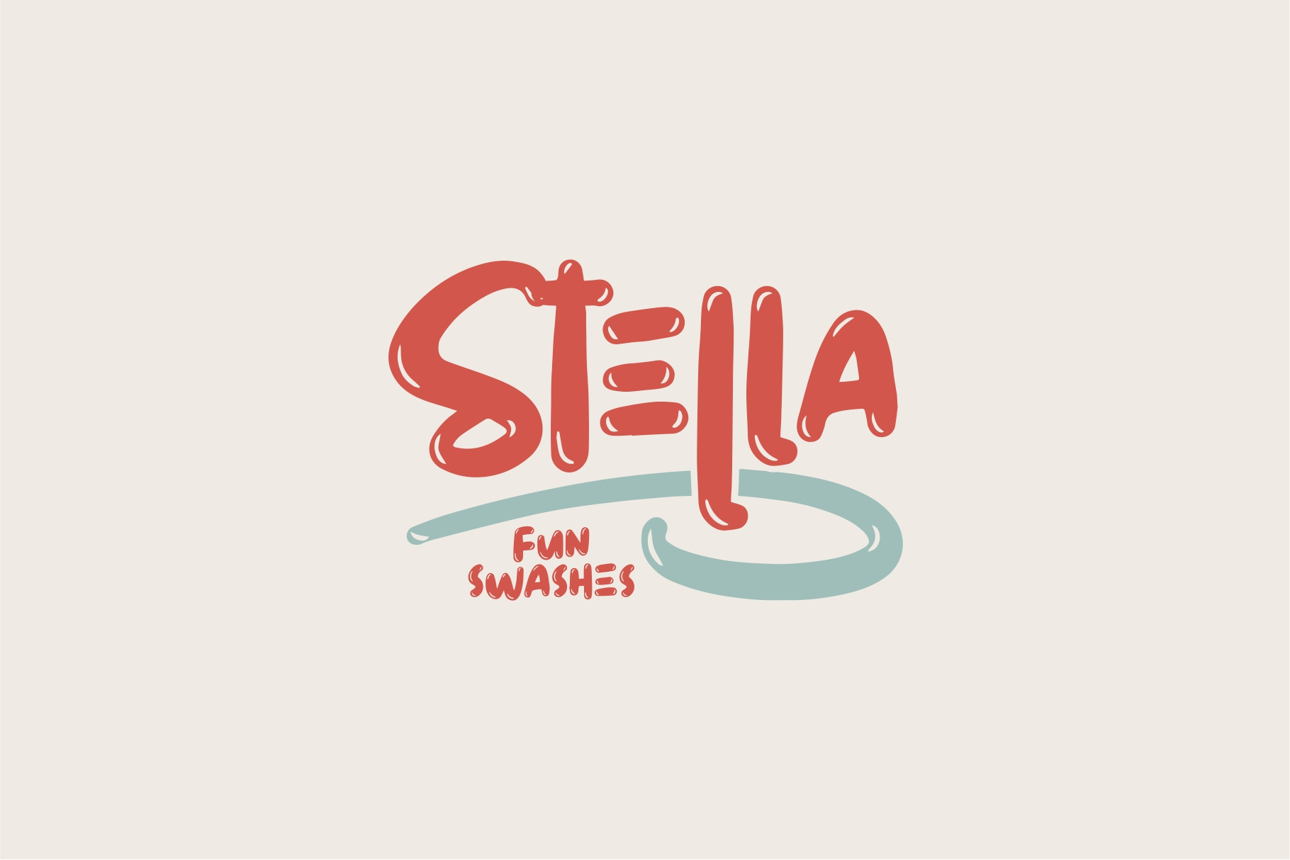 STELLA Fun Fonts example image 1