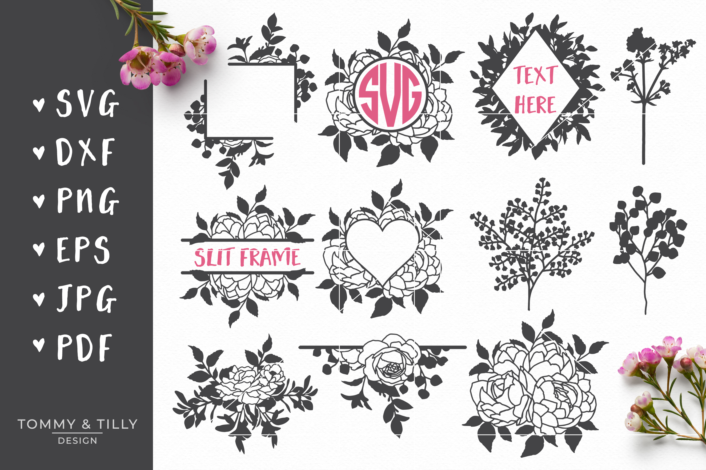 MEGA BUNDLE! Romantic Cut Files - SVG | Papercut example image 10