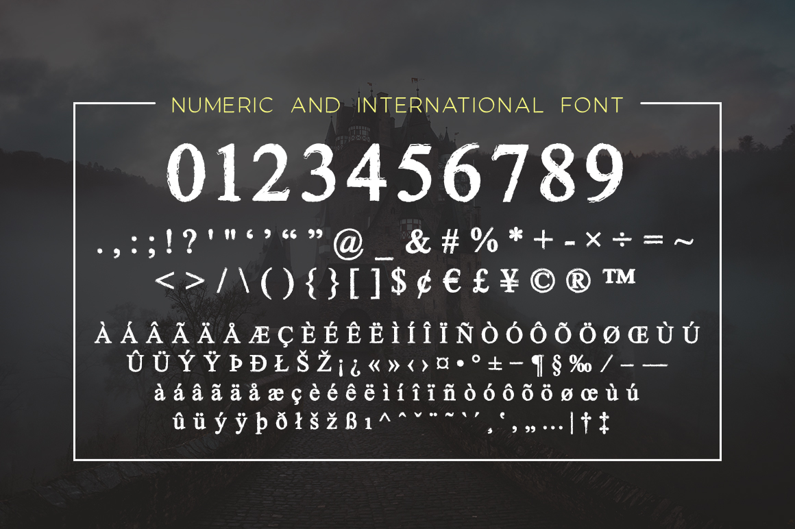 Romeoface Display Font example image 6