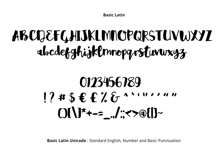 Reality Brush Font example image 2