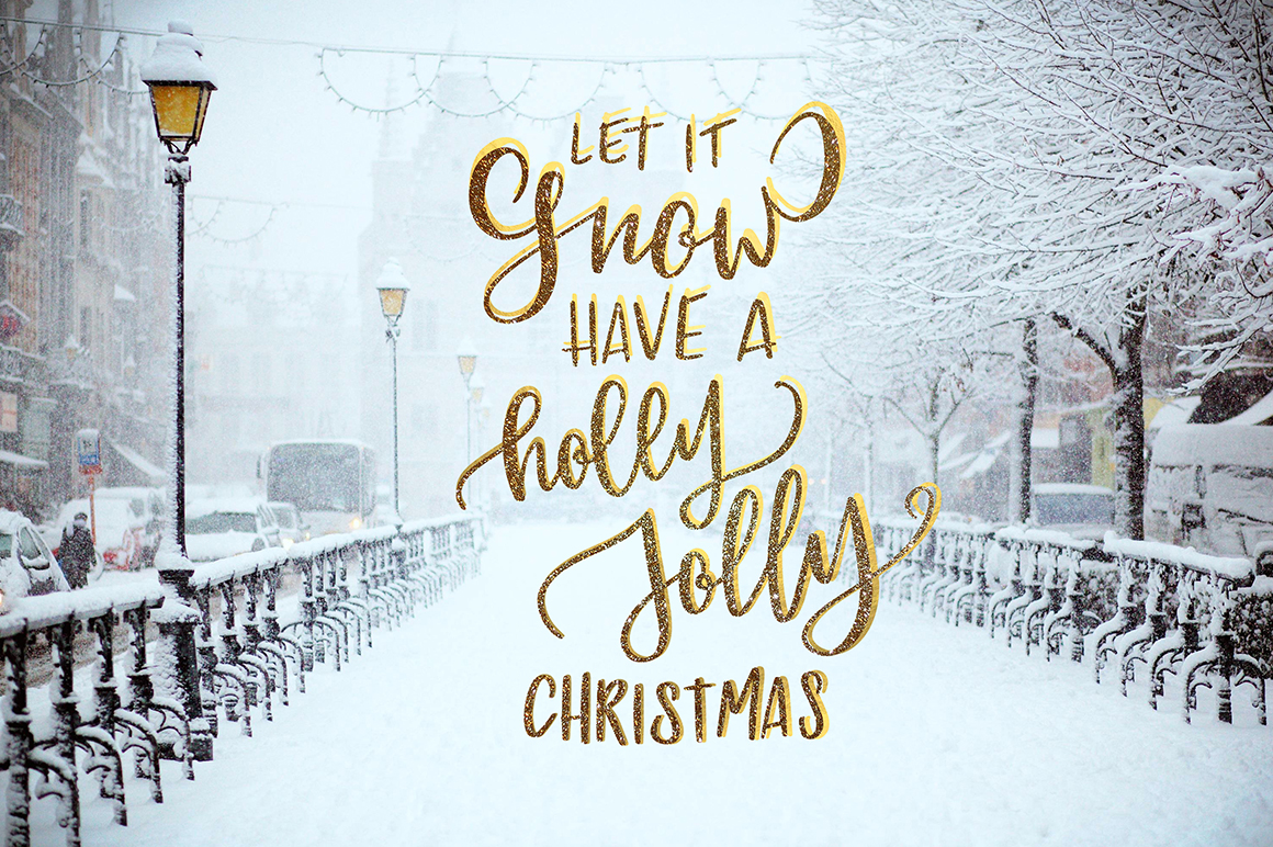 100 Christmas photo overlays example image 10