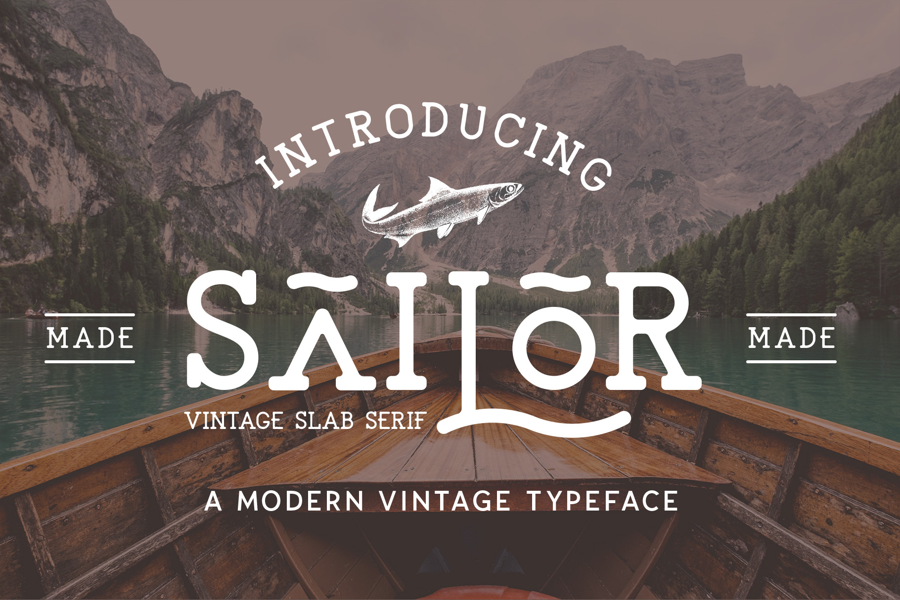 The Sailor Typeface example image 11