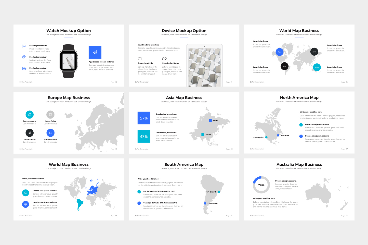 BizPro | Proposal Powerpoint Template example image 8