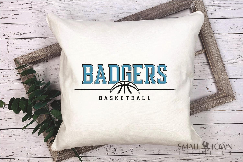 Badger, Badger Basketball Team, Sport, PRINT, CUT & DESIGN example image 3