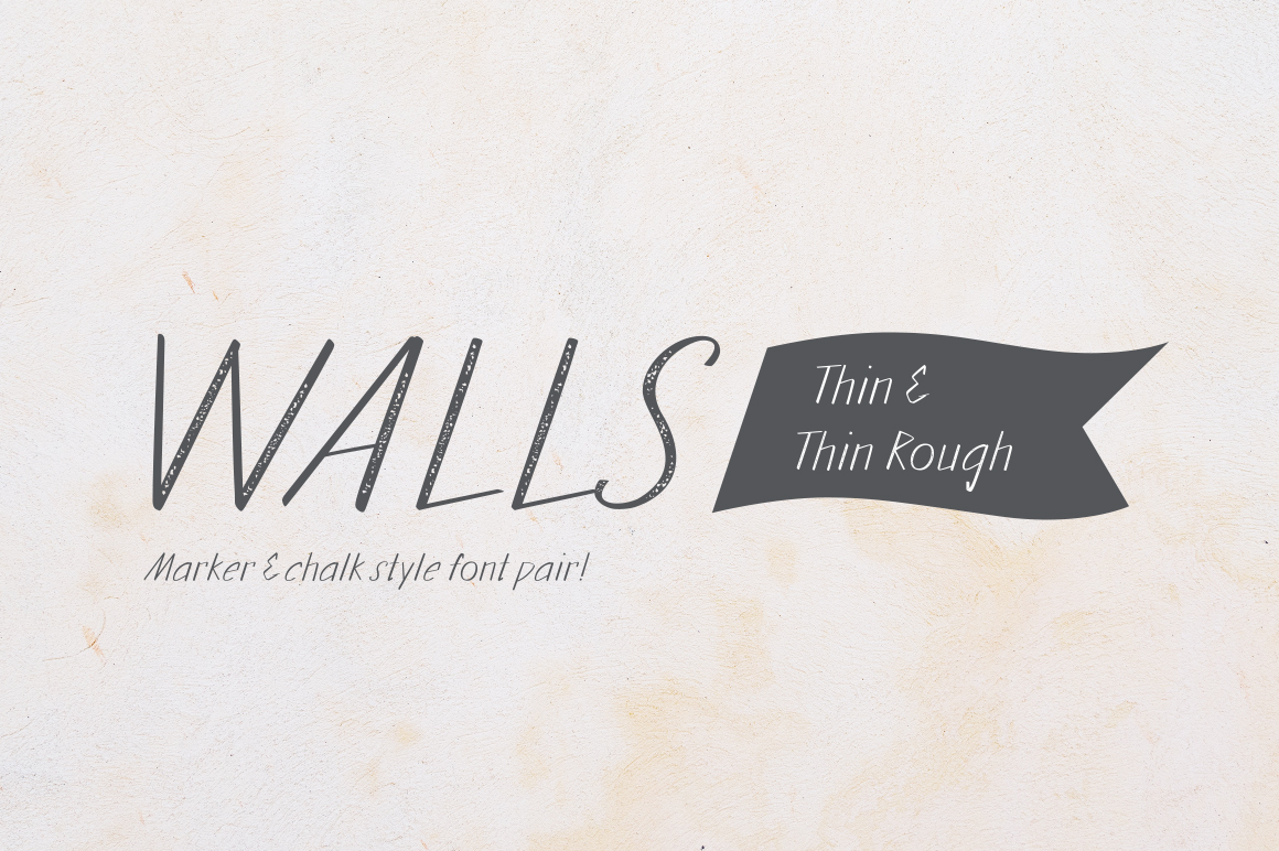 Walls Thin & Walls Rough Thin example image 1