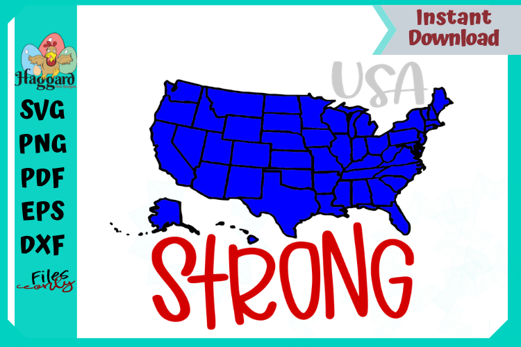 USA STRONG example image 2