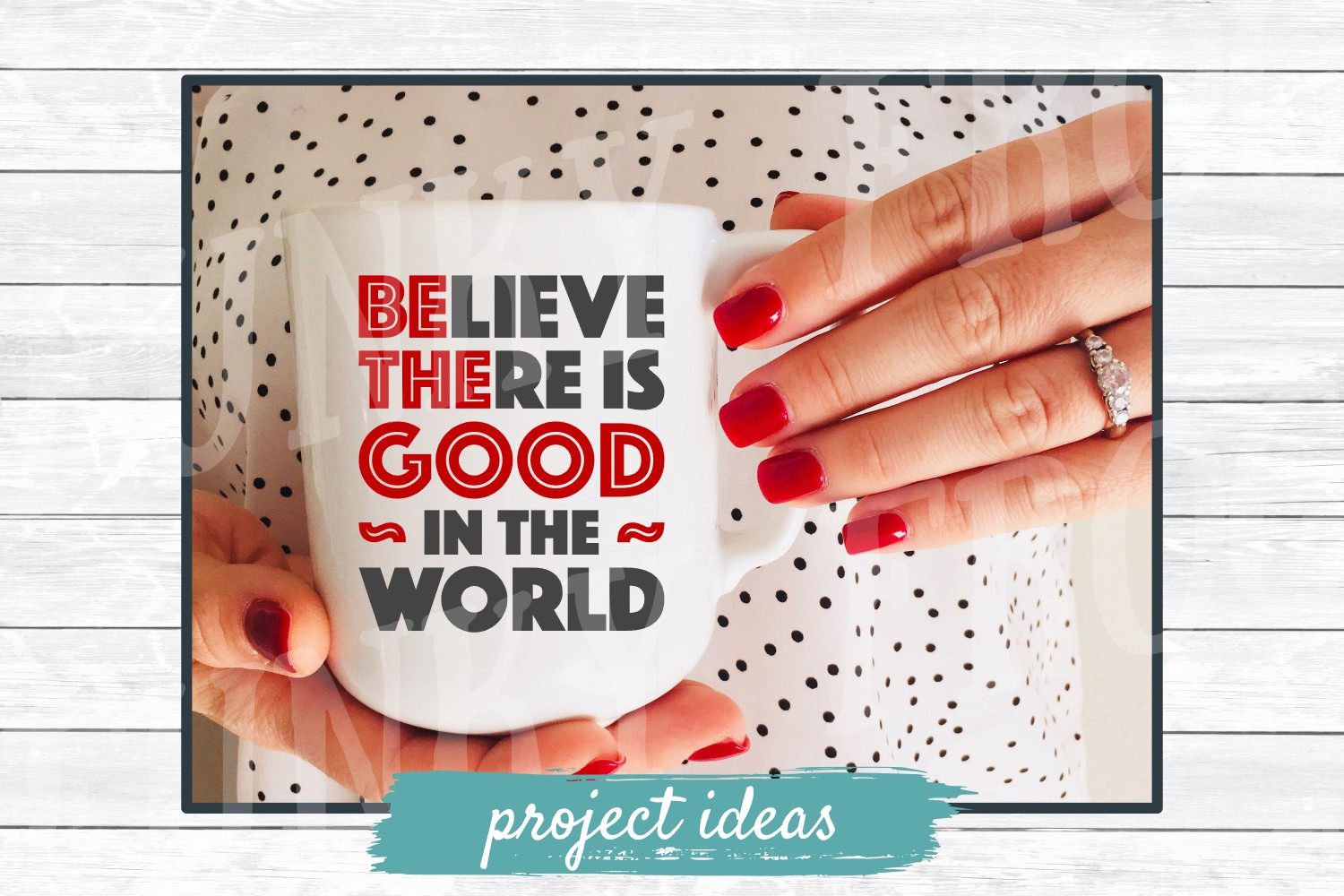 Be The Good- Inspirational SVG Cut File for Crafters example image 2