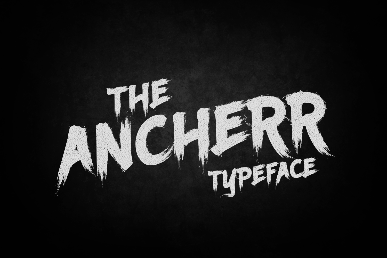 Ancherr Typeface example image 1