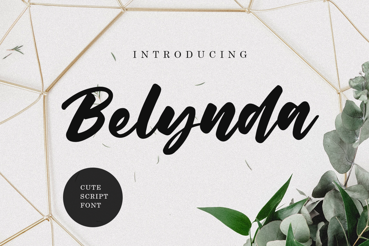 Belynda Font example image 1