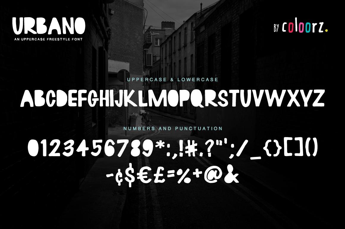 URBANO Freestyle Font example image 2